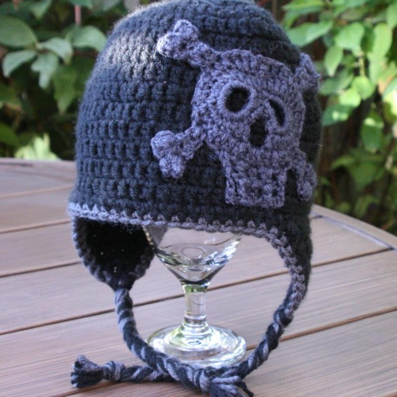 Skull Hat,  Size: Child