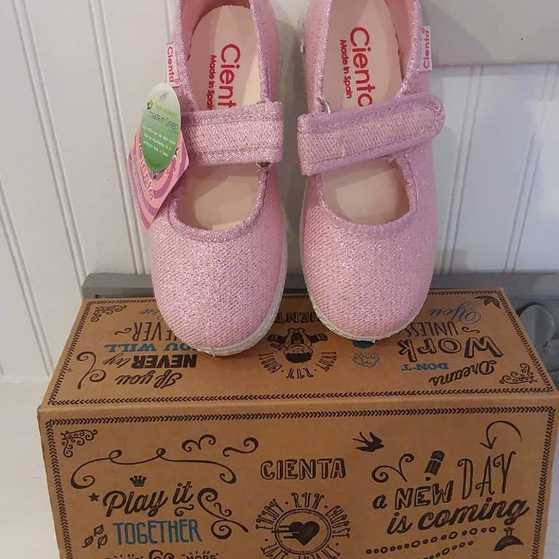 Cienta Mary Janes NEW, Pink, Size: 10-10.5