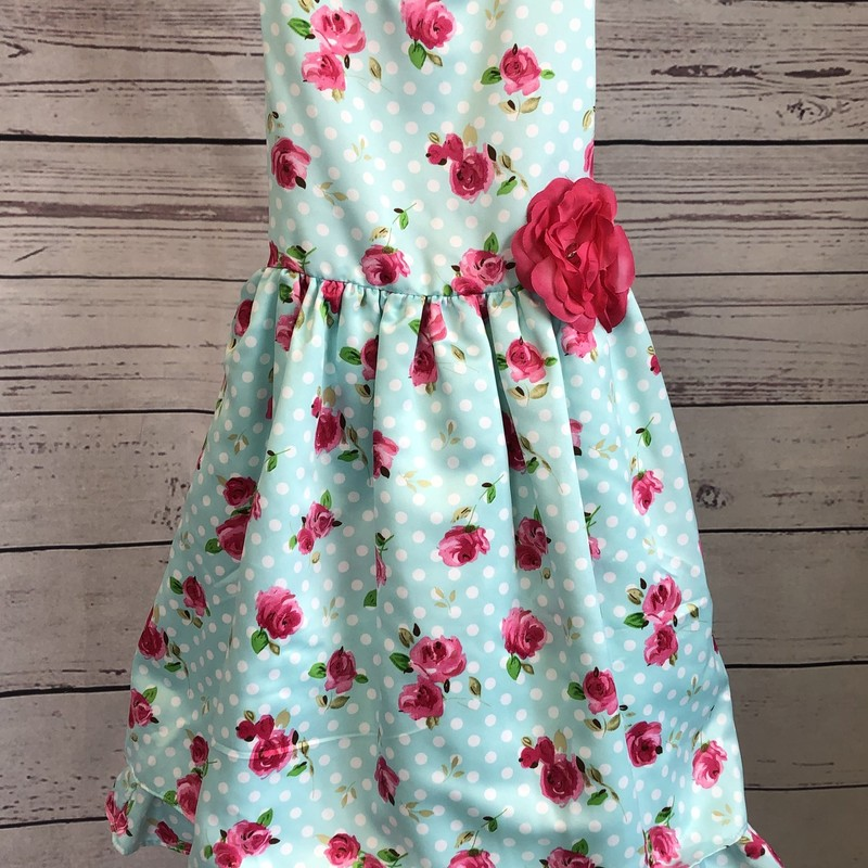 Special Occasion brand flower dress, this dress is adorable.
