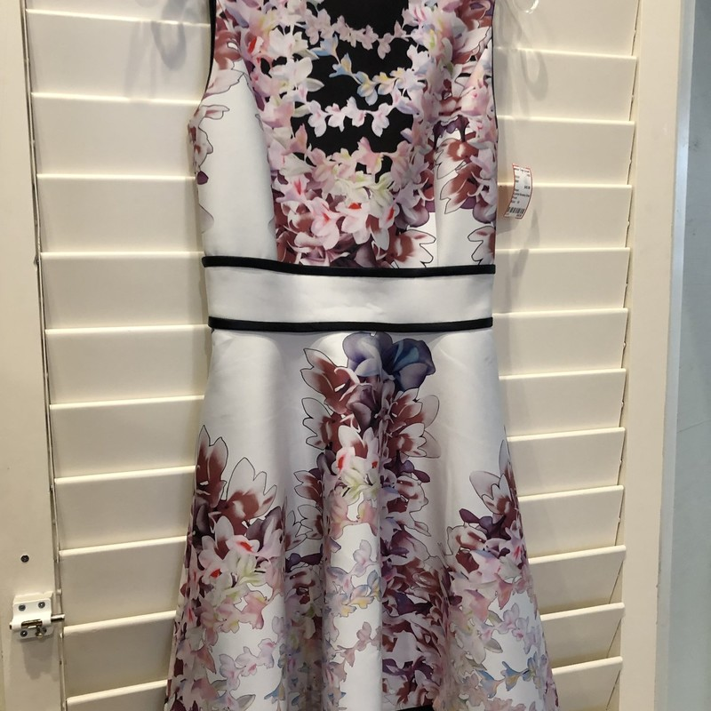 Cynthia Rowley Dress, Floral, Size: 10<br /> good condition, a-line style