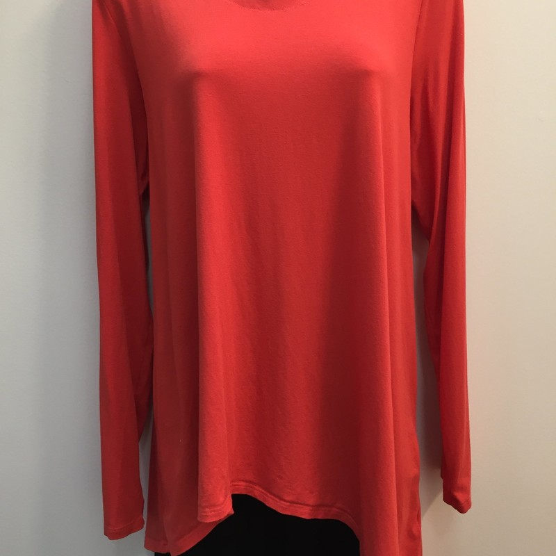 Eileen Fisher Tunic Top, Coral, Size: XLarge