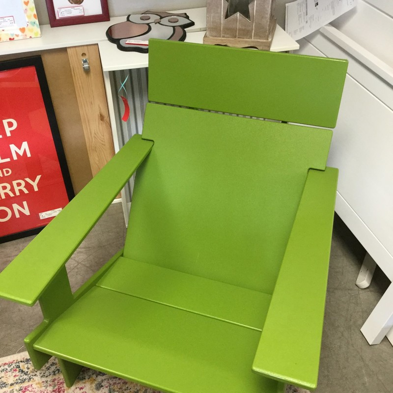 Loll Outdoor Chair, Lollygag, Size: Green