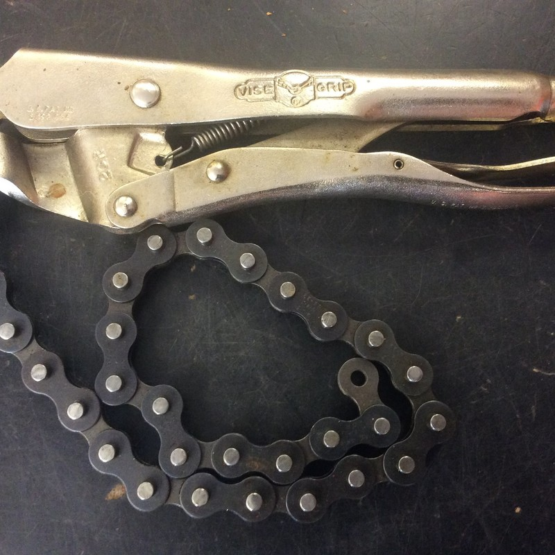 Petersen 20R Locking Chain Plier Vise Grip<br /> <br /> *MADE IN USA*
