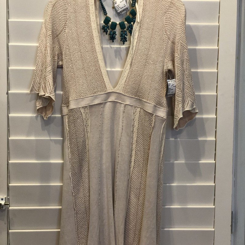 Free People, Ivory, Size: Large<br /> Retail price: $148