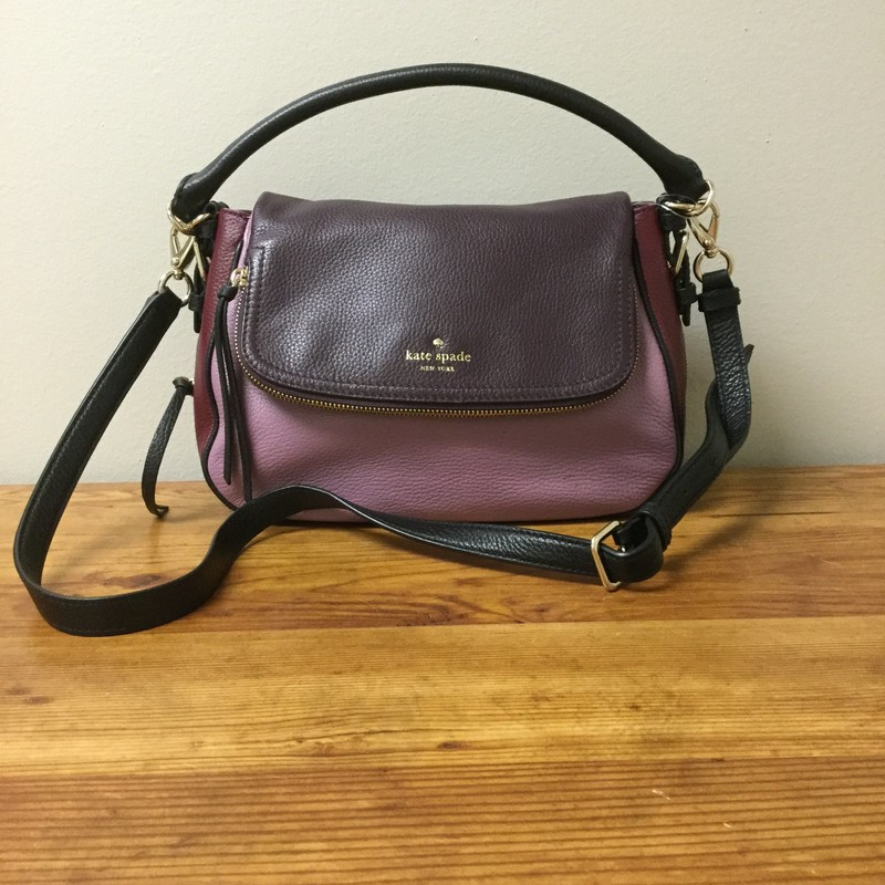 Kate Spade Color Block Cross Body<br /> Purple/Pink/Red<br /> $96.00