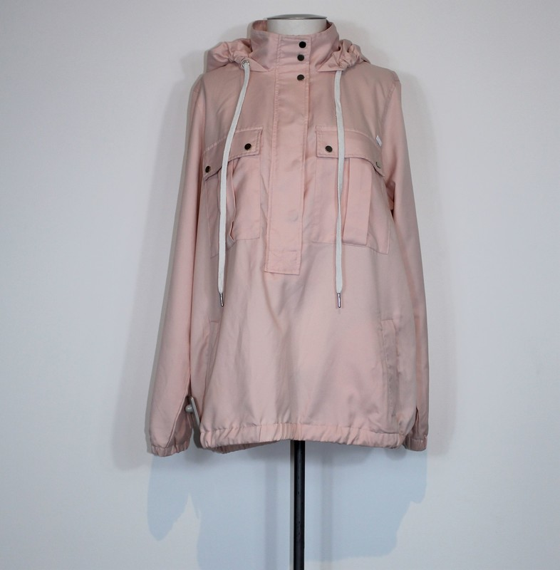 Camilla &amp; Marc<br /> Sporty Hooded Pullover<br /> Pale Pink, Size: 14