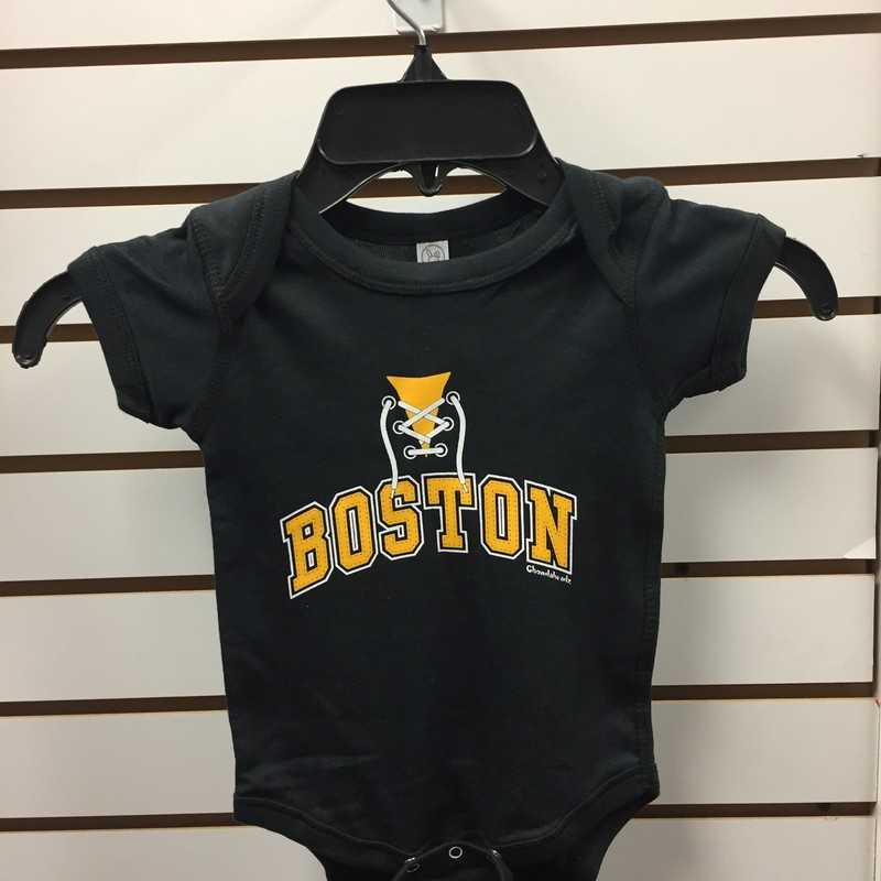 Boston Bruins Onsie, S.sleeve, Size: 12months