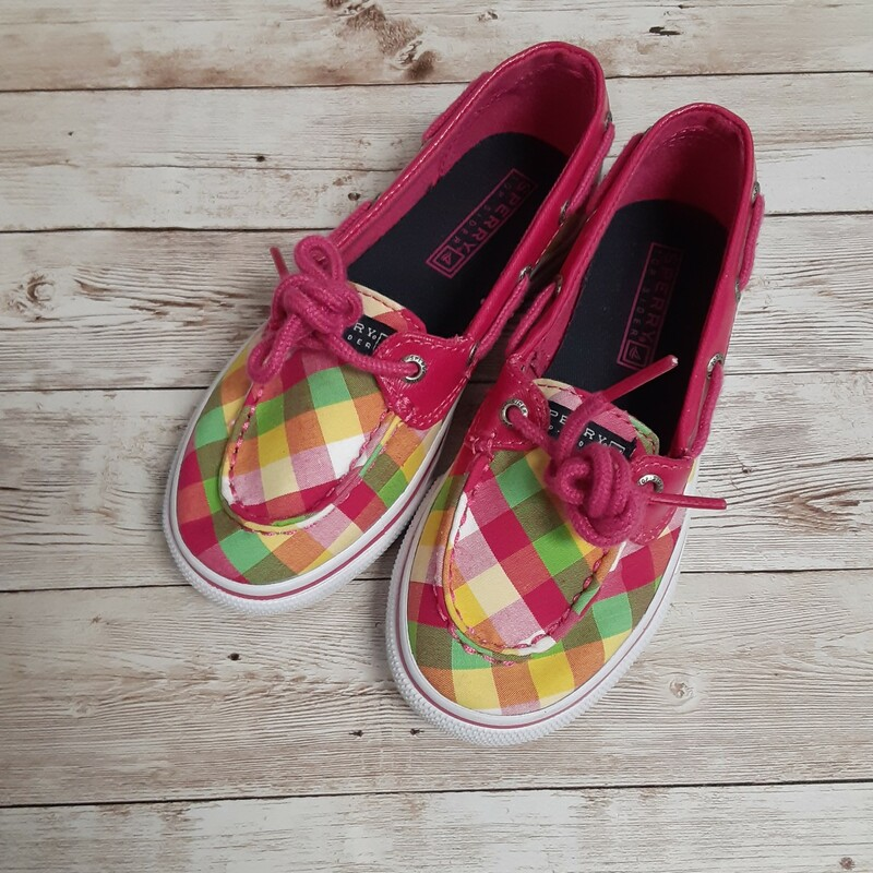 Sperry Plaid Deck Shoes.