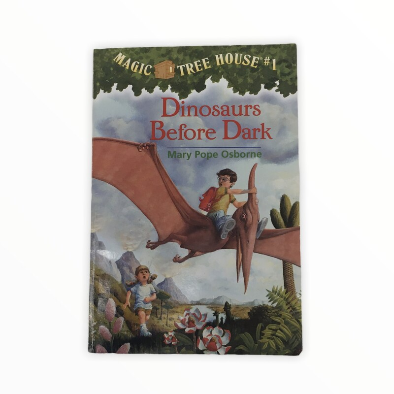 Magic Tree House #1, Book: Dinosaurs before Dark<br /> <br /> #resalerocks #books  #pipsqueakresale #vancouverwa #portland #reusereducerecycle #fashiononabudget #chooseused #consignment #savemoney #shoplocal #weship #keepusopen #shoplocalonline #resale #resaleboutique #mommyandme #minime #fashion #reseller                                                                                                                                      Cross posted, items are located at #PipsqueakResaleBoutique, payments accepted: cash, paypal & credit cards. Any flaws will be described in the comments. More pictures available with link above. Local pick up available at the #VancouverMall, tax will be added (not included in price), shipping available (not included in price), item can be placed on hold with communication, message with any questions. Join Pipsqueak Resale - Online to see all the new items! Follow us on IG @pipsqueakresale & Thanks for looking! Due to the nature of consignment, any known flaws will be described; ALL SHIPPED SALES ARE FINAL. All items are currently located inside Pipsqueak Resale Boutique as a store front items purchased on location before items are prepared for shipment will be refunded.