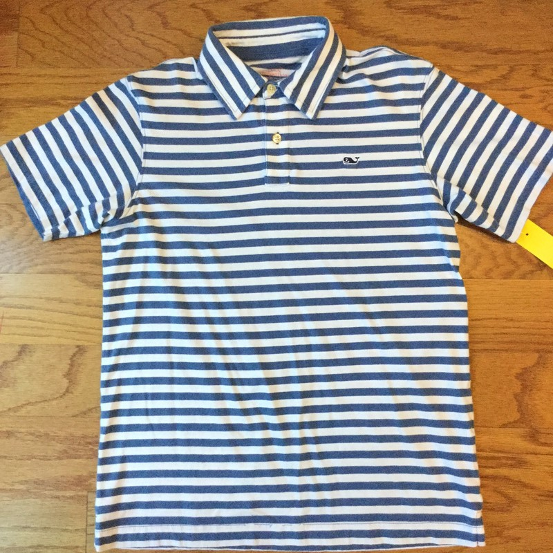 Vineyard Vines Shirt. Lots more in store! Stop by!<br /> <br /> Light wash wear typical of this brand.