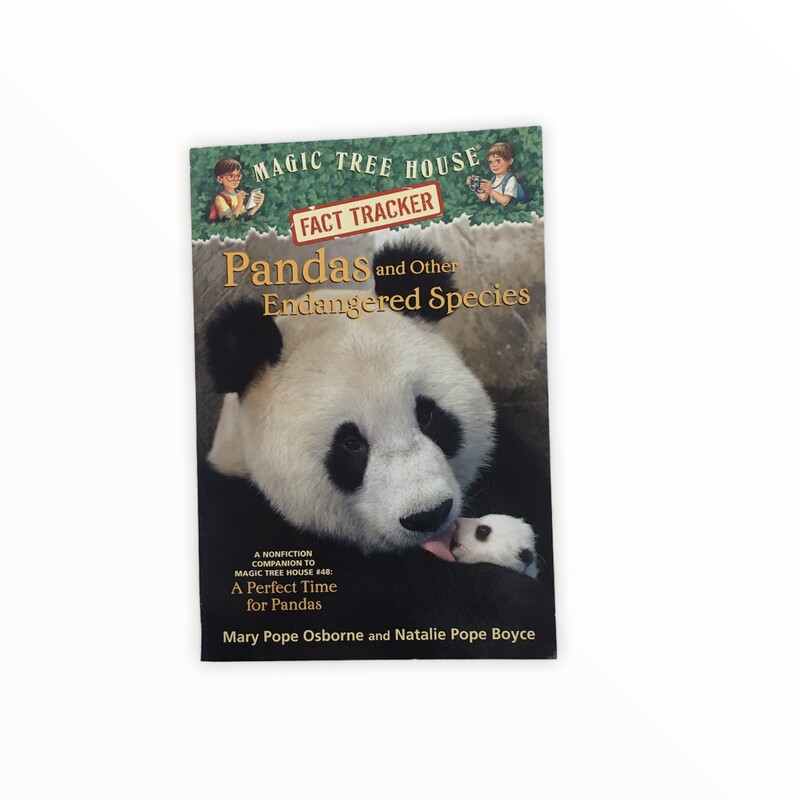 Magic Tree House, Book: Pandas and Other Endangered Species<br /> <br /> #resalerocks #books  #pipsqueakresale #vancouverwa #portland #reusereducerecycle #fashiononabudget #chooseused #consignment #savemoney #shoplocal #weship #keepusopen #shoplocalonline #resale #resaleboutique #mommyandme #minime #fashion #reseller                                                                                                                                      Cross posted, items are located at #PipsqueakResaleBoutique, payments accepted: cash, paypal & credit cards. Any flaws will be described in the comments. More pictures available with link above. Local pick up available at the #VancouverMall, tax will be added (not included in price), shipping available (not included in price), item can be placed on hold with communication, message with any questions. Join Pipsqueak Resale - Online to see all the new items! Follow us on IG @pipsqueakresale & Thanks for looking! Due to the nature of consignment, any known flaws will be described; ALL SHIPPED SALES ARE FINAL. All items are currently located inside Pipsqueak Resale Boutique as a store front items purchased on location before items are prepared for shipment will be refunded.