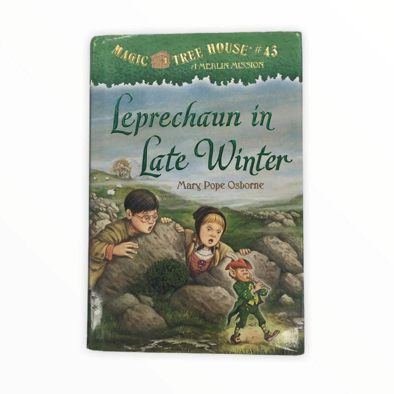 Magic Tree House #43, Book: Leprechaun in Late Winter<br /> <br /> #resalerocks #books  #pipsqueakresale #vancouverwa #portland #reusereducerecycle #fashiononabudget #chooseused #consignment #savemoney #shoplocal #weship #keepusopen #shoplocalonline #resale #resaleboutique #mommyandme #minime #fashion #reseller                                                                                                                                      Cross posted, items are located at #PipsqueakResaleBoutique, payments accepted: cash, paypal & credit cards. Any flaws will be described in the comments. More pictures available with link above. Local pick up available at the #VancouverMall, tax will be added (not included in price), shipping available (not included in price), item can be placed on hold with communication, message with any questions. Join Pipsqueak Resale - Online to see all the new items! Follow us on IG @pipsqueakresale & Thanks for looking! Due to the nature of consignment, any known flaws will be described; ALL SHIPPED SALES ARE FINAL. All items are currently located inside Pipsqueak Resale Boutique as a store front items purchased on location before items are prepared for shipment will be refunded.
