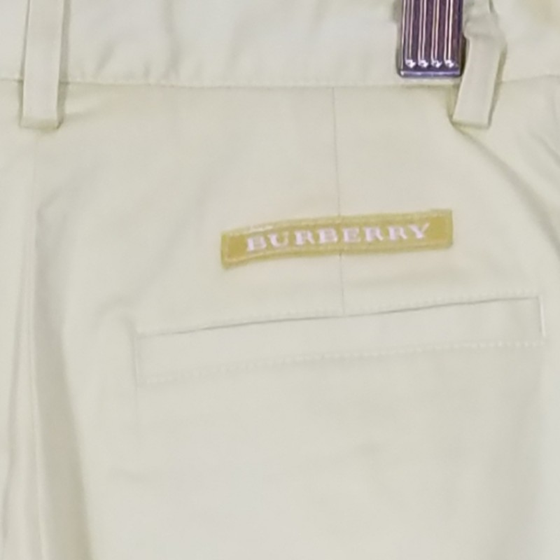 BURBERRY GOLF  YELLOW<br /> Size: 2