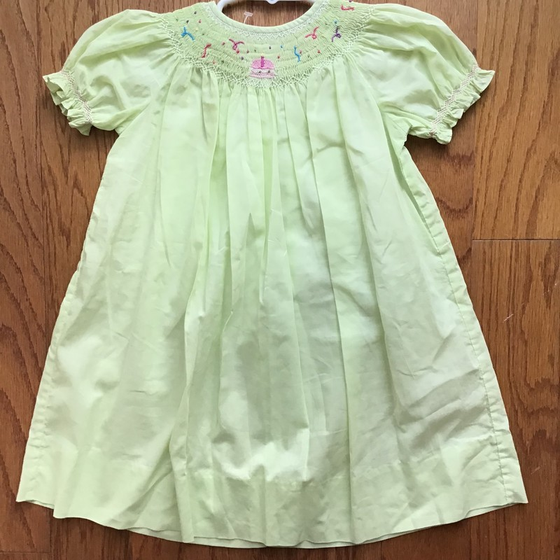 Strasburg Dress, Green, Size: 18m