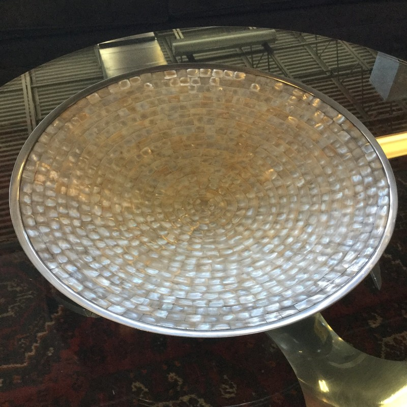 Mother Pearl Bowl, Julia Knight, Size: 20""