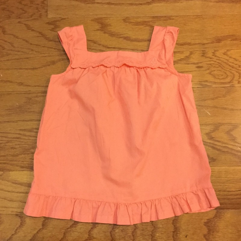 Janie Jack Top, Orange, Size: 6