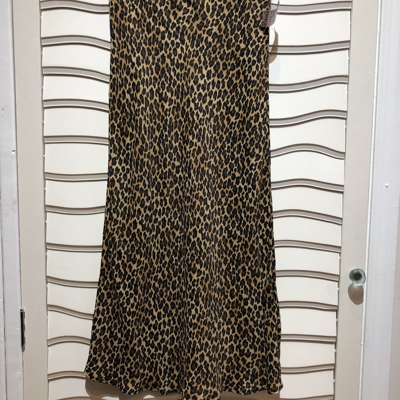 THREE DOT SKIRT, LEOPARD, Size: Medium