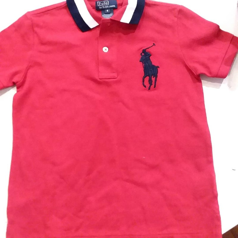 Ralph Lauren Polo NEW, Red, Size: 6