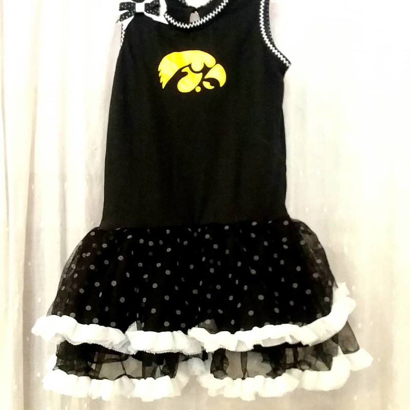 Iowa Tutu Dress, Size: 2
