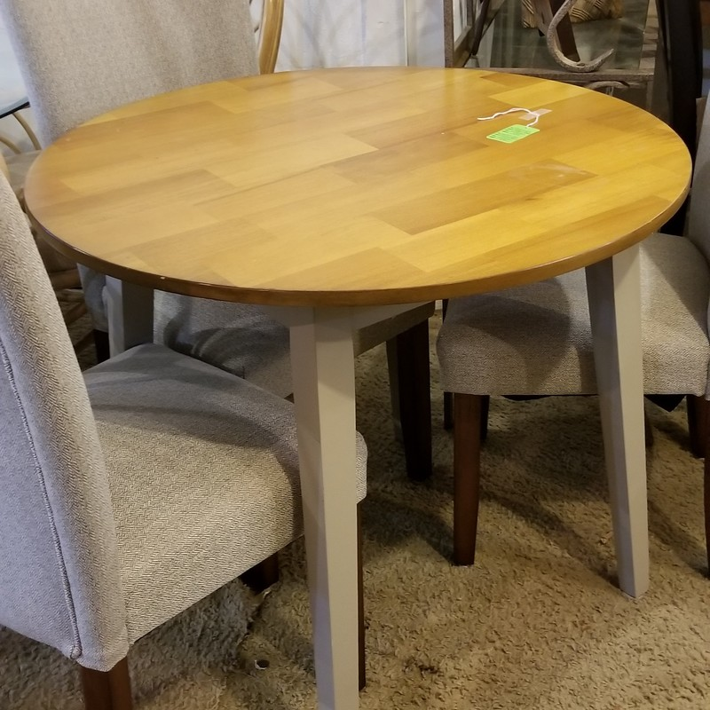 BISTRO TABLE W/ 4 CHAIRS, None, Size: None