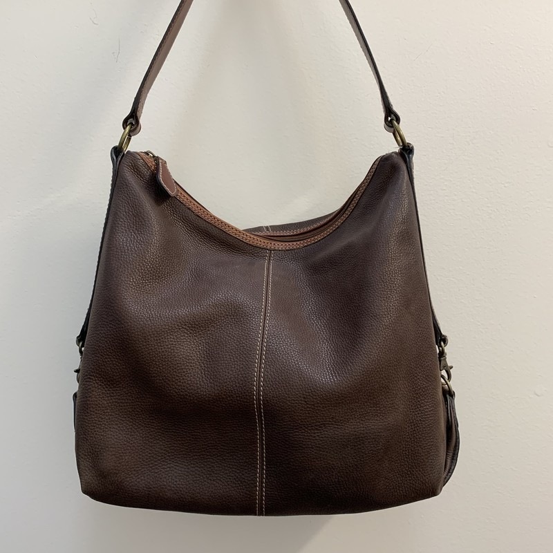 Fossil Shoulder Bag<br /> Brown Leather