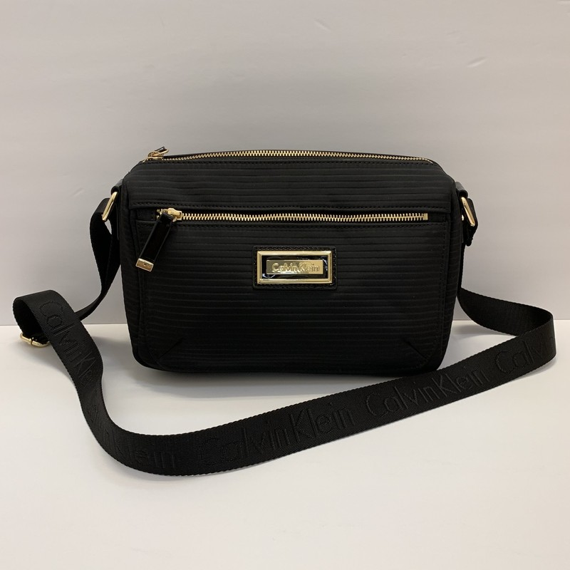 NEW Calvin Klein Crossbody<br /> Black Nylon