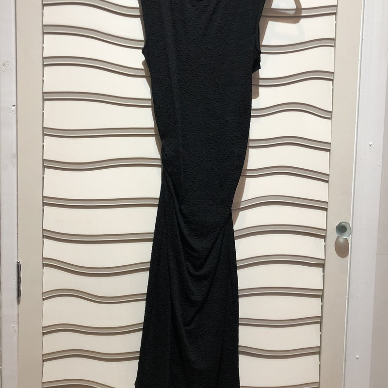 Tracy Reese Cross Back Dr, Black, Size: Small<br /> This cross back dress is lined! A well made dress with stretch.