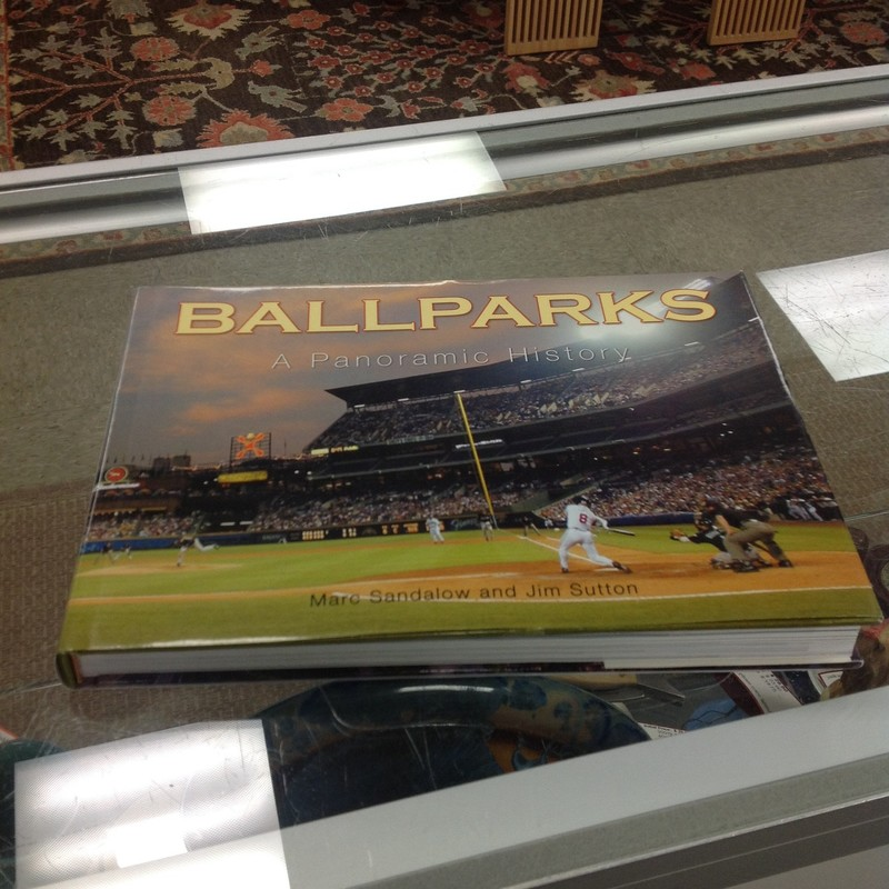 Ballparks Book, Multi, Size: 11x8