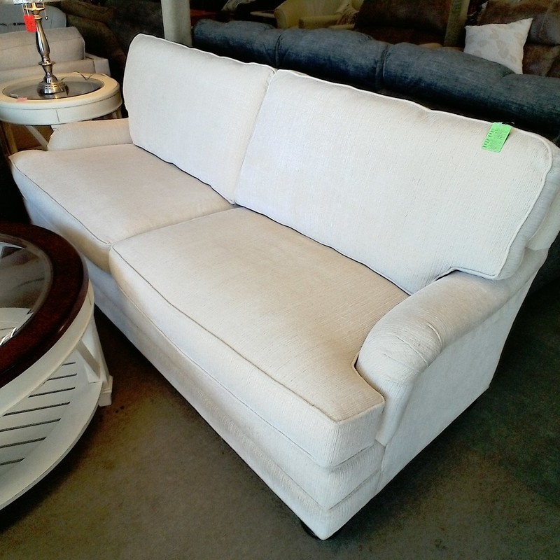 WHITE SOFA, None, Size: None