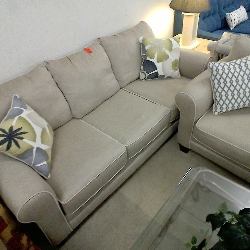 SOFA AND LOVESEAT, None, Size: None