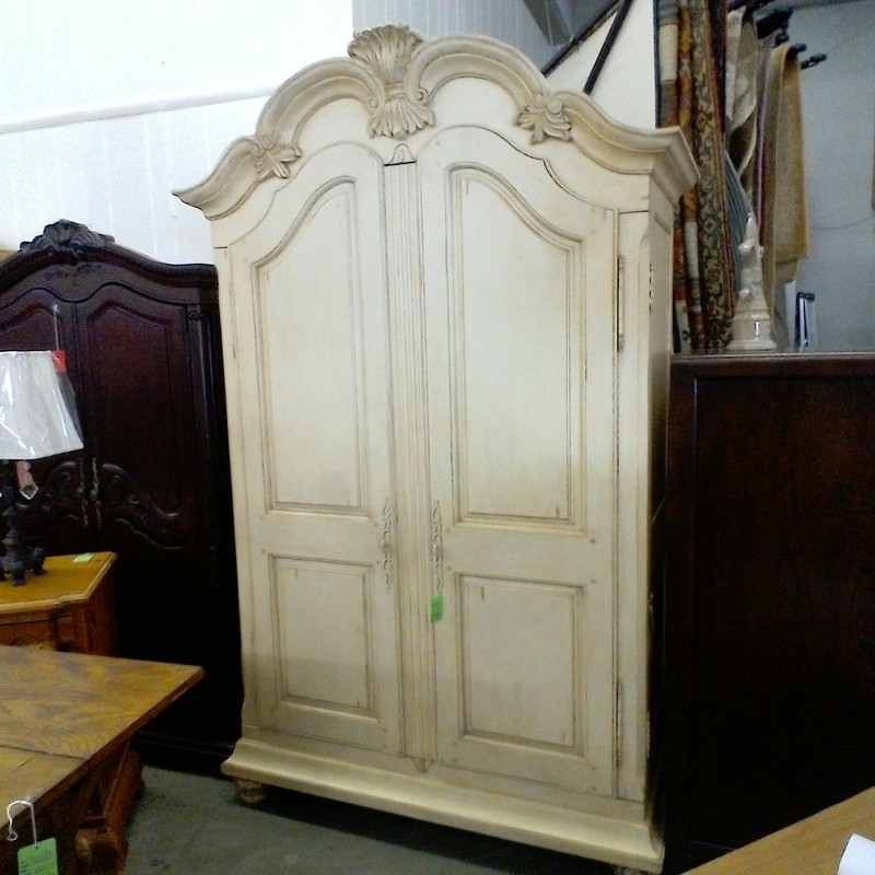 ARMOIRE, OFF WHIT, Size: Large