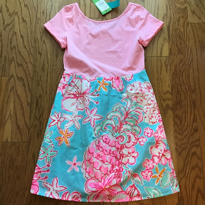 Lilly Pulitzer Dress NEW, Pink, Size: 12-14<br /> <br /> <br /> BRAND NEW WITH $68 TAG!<br /> <br /> <br /> ALL ONLINE SALES ARE FINAL. NO RETURNS OR EXCHANGES.