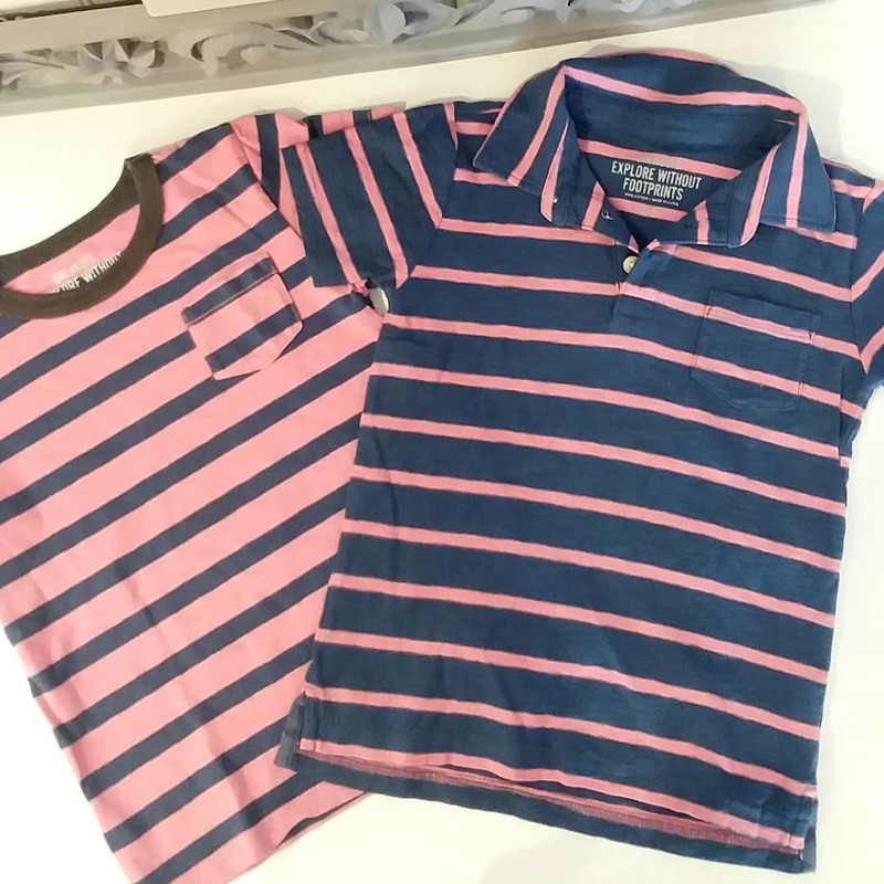 Boden Tee Stripe, Size: 4-5<br /> *Listing is for t-shirt ONLY, polo sold separately.