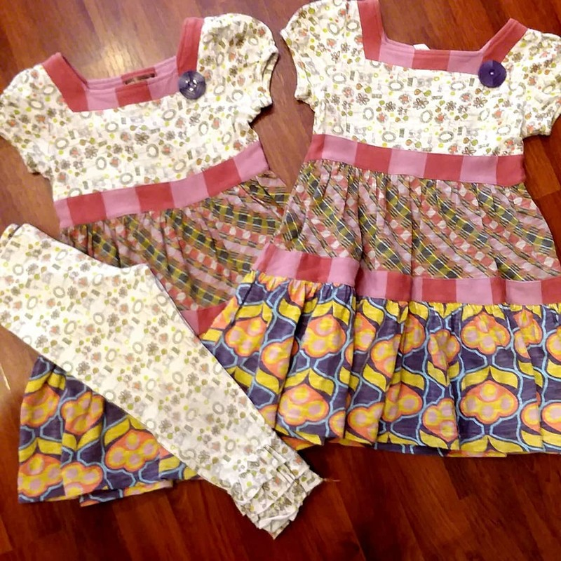 Matlda Jane Mimi Tiered SET, Size: 2<br /> Comes with dress and leggings.<br /> *Listing is for one dress and leggings ONLY, second dress sold separately.