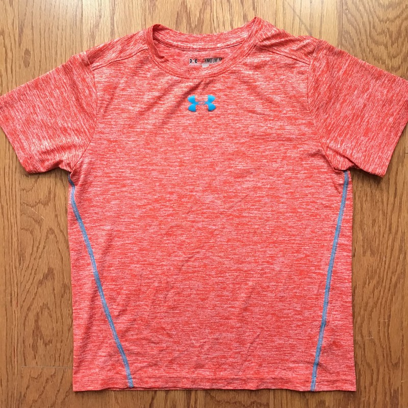 Under Armour Shirt, Orange, Size: Medium<br /> <br /> <br /> <br /> ALL ONLINE SALES ARE FINAL. NO RETURNS OR EXCHANGES.