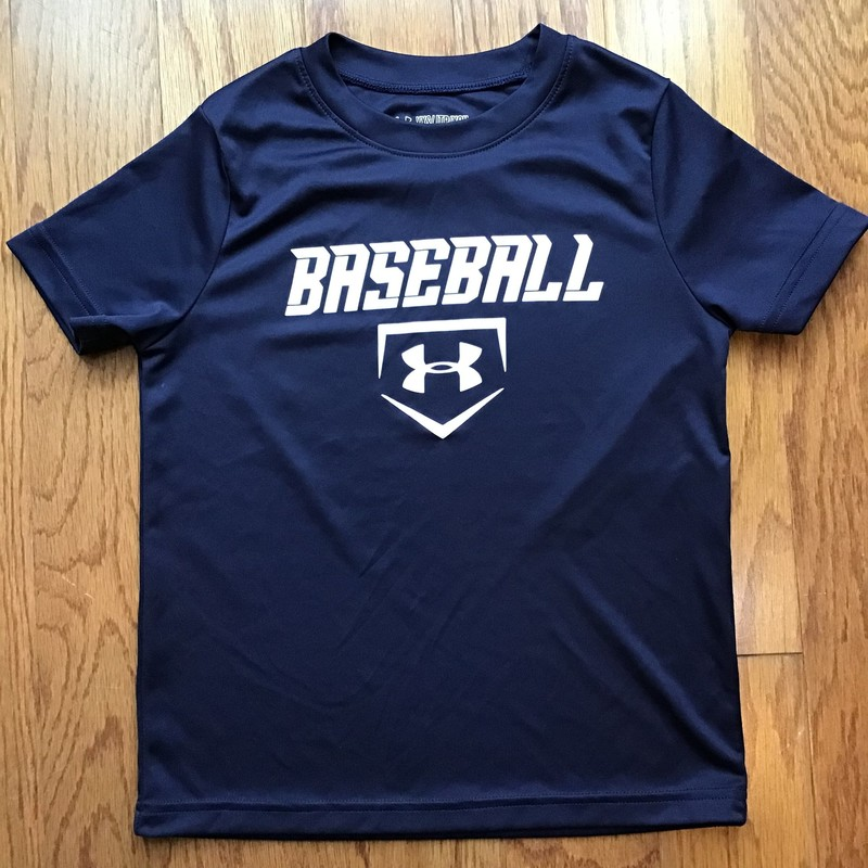 Under Armour Shirt, Navy, Size: Xs<br /> <br /> <br /> <br /> ALL ONLINE SALES ARE FINAL. NO RETURNS OR EXCHANGES.