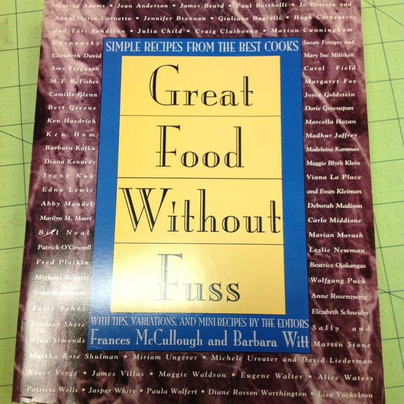 Great Food Cookbook, Burgundy, Size: None