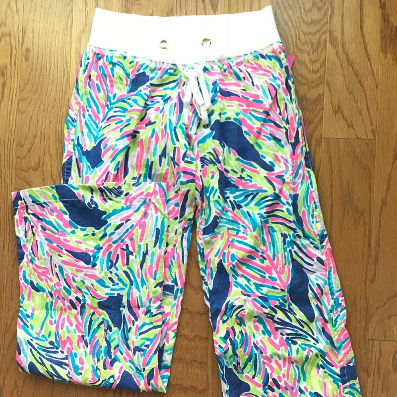 Lilly Pulitzer Beach Pant, Green, Size: Xs<br /> <br /> WOMENS SIZE<br /> <br /> ALL ONLINE SALES ARE FINAL. NO RETURNS OR EXCHANGES.