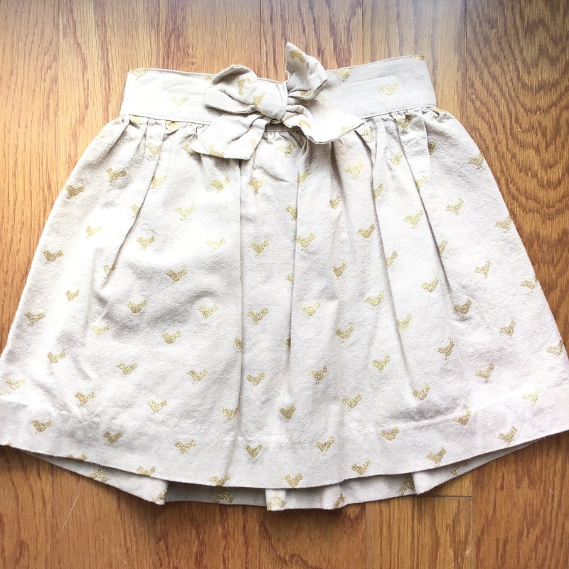 Lilly Pulitzer Skirt, Tan, Size: 6<br /> <br /> <br /> ALL SALES ARE FINAL. NO RETURNS OR EXCHANGES.