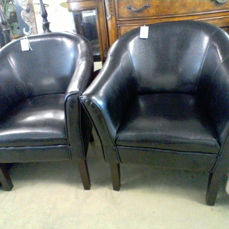 BLACK SIDE CHAIR, None, Size: None