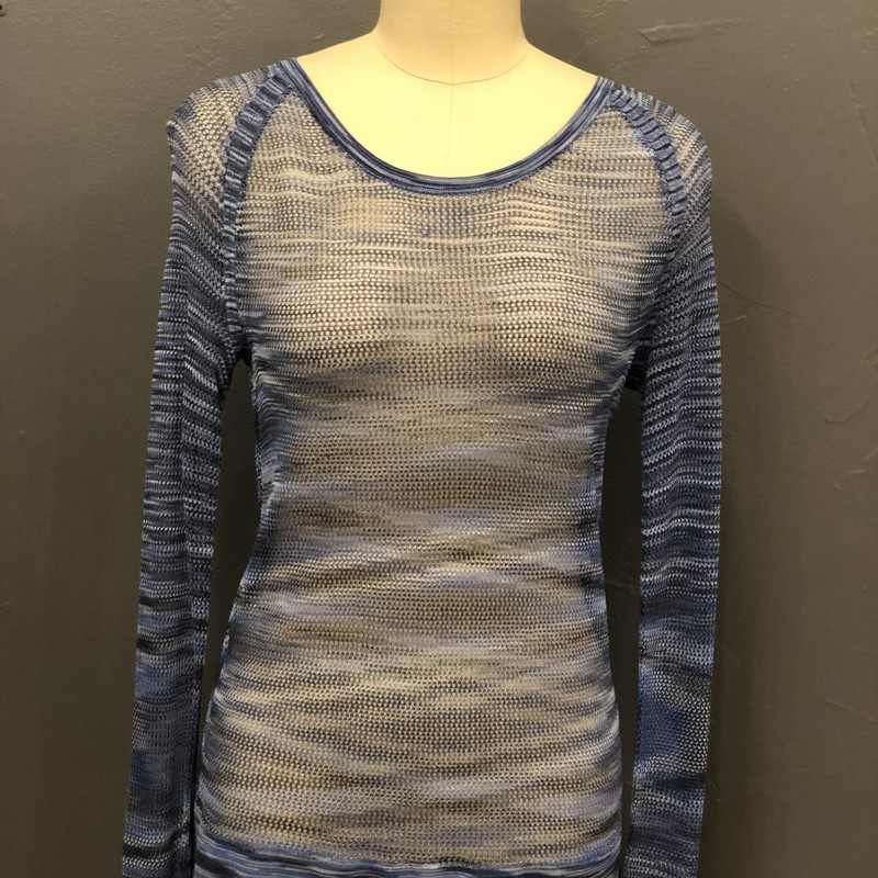 Rag&amp;Bone Allagauer Raglan, Blue, Size: XS<br /> <br /> 100% Rayon<br /> <br /> New With Tags<br /> Estimated Retail: $195