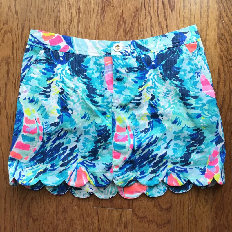 Lilly Pulitzer Short, Blue, Size: 2<br /> <br /> <br /> WOMENS SIZE<br /> <br /> <br /> ALL ONLINE SALES ARE FINAL. NO RETURNS OR EXCHANGES.