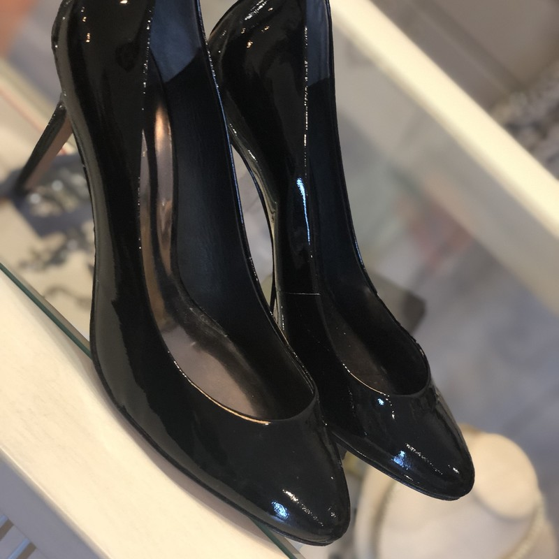 Coach Patent Pumps, Black, Size: 8.5<br /> gorgeous Patent pumps retail over $250