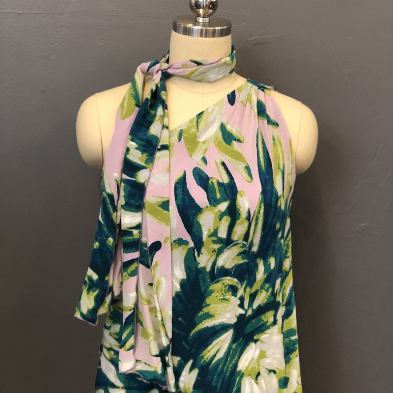 Just Cavalli 1 Shoulder, Pur.Grn, Size: 40<br /> <br /> 100% Silk<br /> <br /> New With Tags<br /> Original Retail: $395