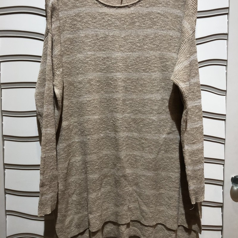 Free People Oversized Swe, Tan, Size: Small<br /> Free People oversized sweater- cotton blend. Like new