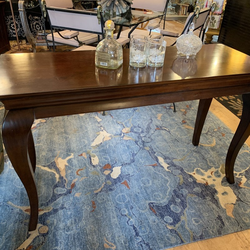 this sofa table says it all for itself without being too loud. Easily pair this to any room to and a little extra something it has been missing.