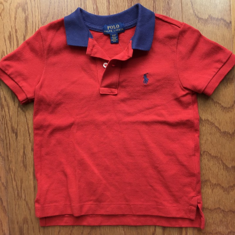 Polo RL Shirt, Red, Size: 2<br /> <br /> <br /> <br /> ALL ONLINE SALES ARE FINAL. NO RETURNS OR EXCHANGES.