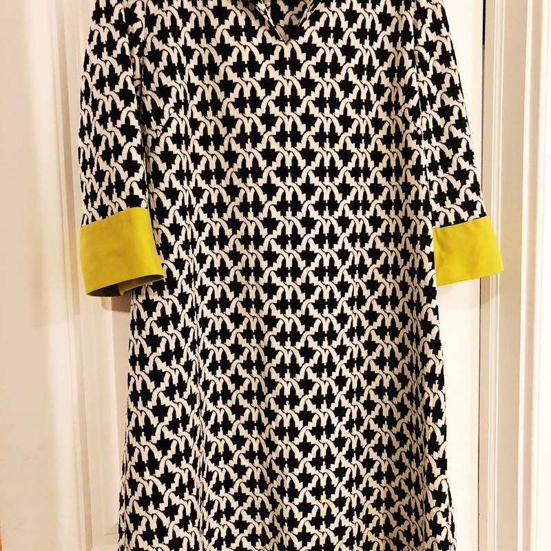 Sara Campbell Dress, Black, Size: XLarge<br /> Soft cotton, beauiful detail. Minor signs of wear