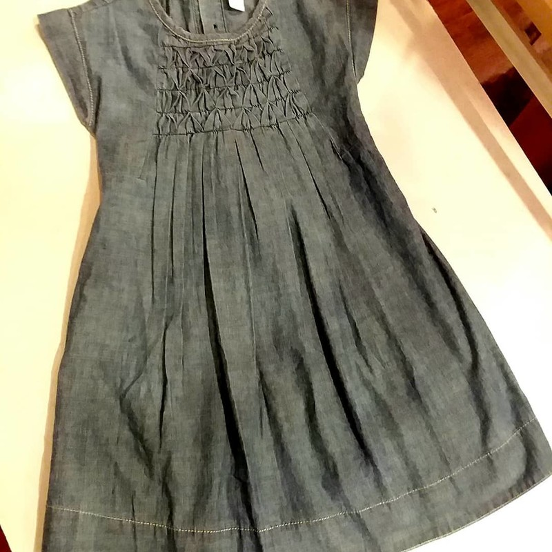 Tea Chambray Dress, Size: 6