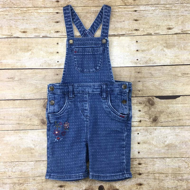Overalls<br /> Hanna Andersson<br /> Kids<br /> Size: 3/6m - G<br /> <br /> Due to the nature of consignment, any known flaws will be described; ALL SHIPPED SALES ARE FINAL. All items are currently located inside Pipsqueak Resale Boutique as a store front, items purchased on location before items are prepared for shipment will be refunded.